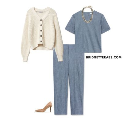 Summer cardigan outfits for work.   #LTKworkwear