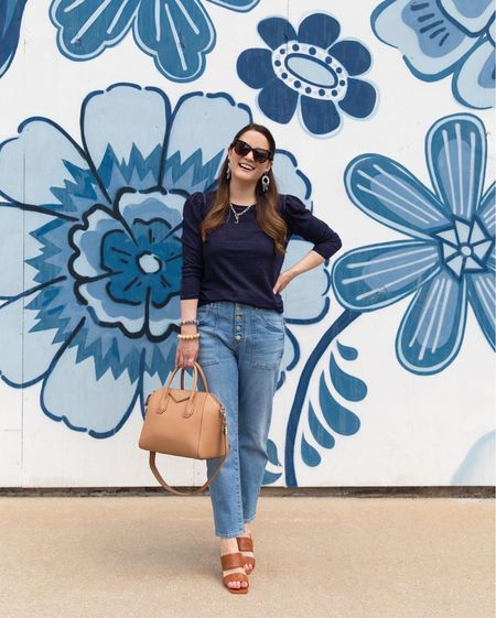 A Veronica Beard look from the Nordstrom Anniversary Sale with Vince Camuto sandals and a Givenchy bag   #LTKshoecrush #LTKitbag #LTKsalealert
