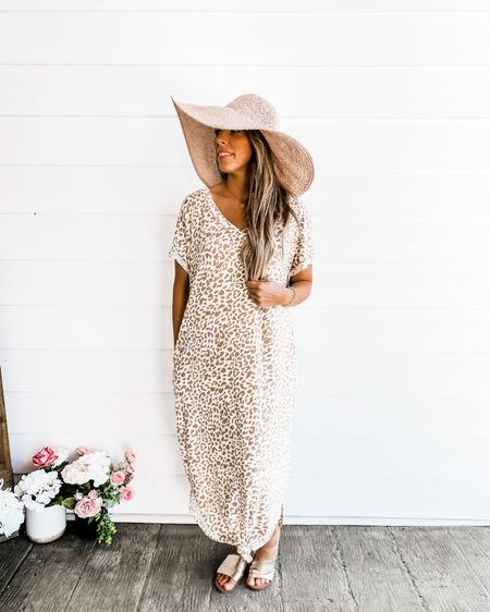 http://liketk.it/3dfET #liketkit @liketoknow.it #LTKstyletip #LTKunder50 Shop my daily looks by following me on the LIKEtoKNOW.it shopping app   I'm loving this hat from target and you can get some really cute shoes from Amazon. Gold is a huge trend right now so definitely go snag those! My dress is from a company called sand and charcoal. You can find the link to this product on our Instagram page/stories! Use code SISS10 for 10 perfect off!