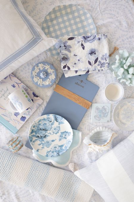 blue and white collections for the home   A couple are from favorite small shops   #LTKunder50 #LTKhome #LTKstyletip