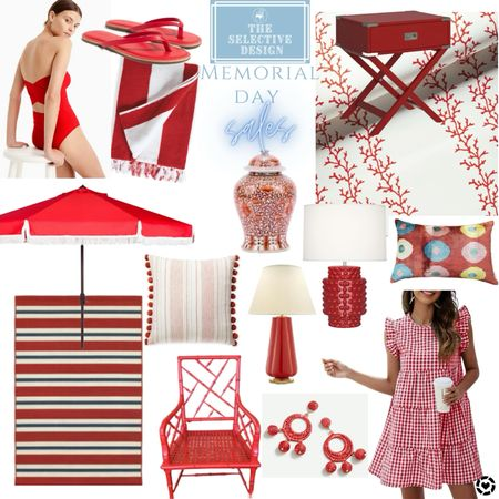 Memorial Day sales are out in full force. Snag some goodies!! Furniture, rugs, art, dresses, jewelry, bathing suits, outdoor furniture   #LTKhome #LTKstyletip #LTKsalealert