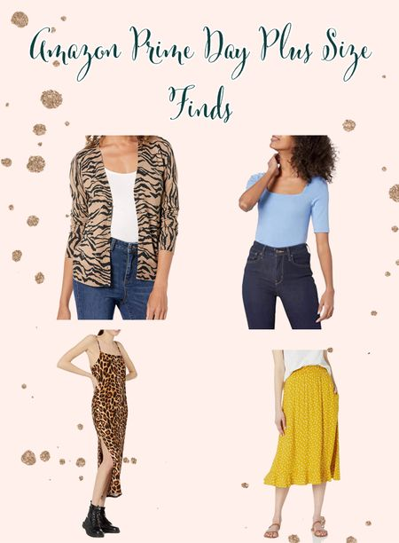 I was really hoping there would be more plus size funds for Amazon Prime Day, but, alas, I found a few that I would actually buy. All of these, unfortunately, only go up to a size XXL, but that should fit a size 18/20. I am definitely grabbing the cardigan and the dress for the summer!  What are you thinking about getting?!  #LTKcurves #LTKunder50 #LTKsalealert