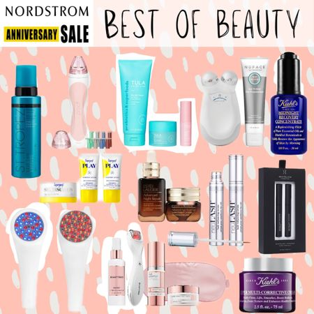 NSale Nordstrom anniversary sale affordable beauty skincare makeup hair care anti-aging  #LTKunder100 #LTKbeauty #LTKsalealert