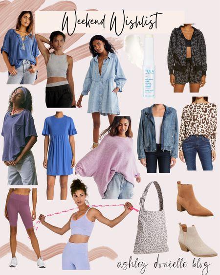 Items on my wishlist this weekend - Free People, booties, activewear!   #LTKstyletip #LTKbeauty #LTKfit