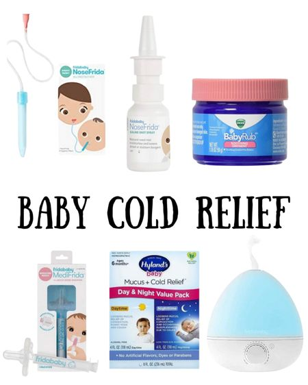 Must have baby cold relief items for when you child is sick with a cold!    http://liketk.it/3ifMX #liketkit @liketoknow.it #LTKbaby #LTKkids #fridababy