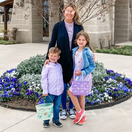 Easter Egg Hunt was a success! Yay for matching which we never do! 😂 http://liketk.it/3c2qI #liketkit @liketoknow.it #LTKfamily #LTKkids #targetstyle #Amazonfinds