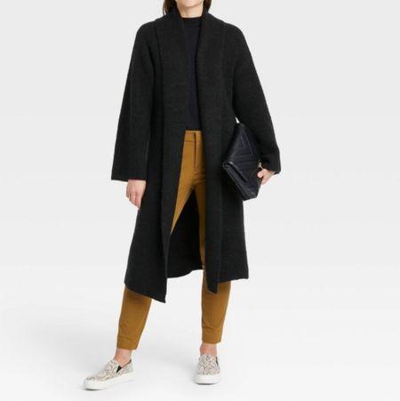 This cardigan is a fall/winter wardrobe staple! Runs a bit generous. #cardigan #sweater #fallfashion #sale #target #targetfinds #plussize  #LTKunder50