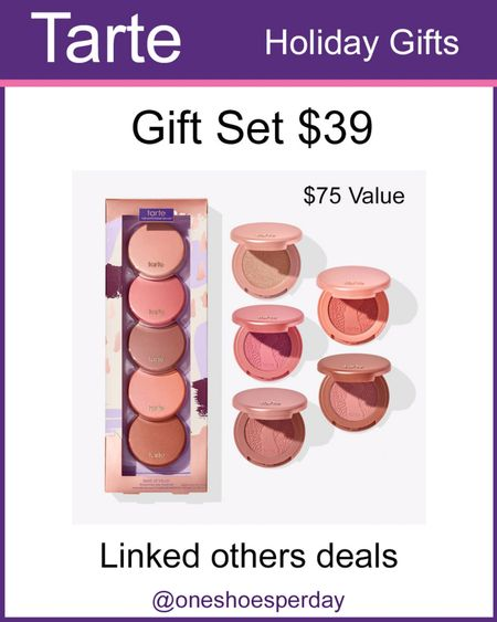 Tarte Beauty Gifts Set $39 and under        http://liketk.it/3pUwU @liketoknow.it #liketkit #LTKGiftGuide #LTKHoliday #LTKSeasonal #LTKsalealert #LTKbeauty #LTKunder50 #LTKstyletip #LTKworkwear Beauty   Makeup   Gift for Her   Lipstick   Concealer   Eyeshadow   Eyelashes   Eyeliner   Foundation   Gift for Teachers   Gifts for Mother-in-Law