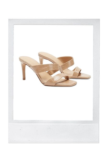 Under $100 heeled sandals for date night or the office. Also in black!