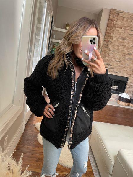 Fleece jacket on sale size Xs   #LTKunder50 #LTKunder100 #LTKsalealert