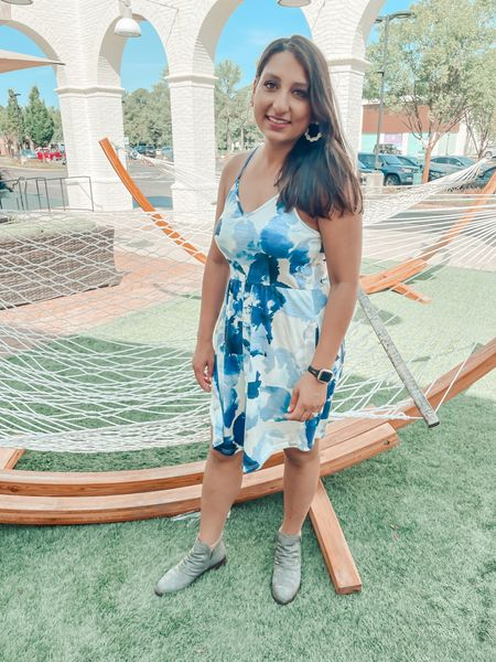 Fun blue dress   #LTKunder50 #LTKSeasonal #LTKstyletip