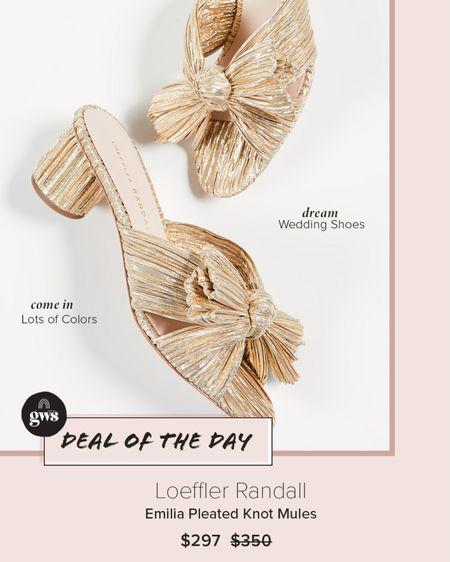 Dreamy wedding shoes on sale! Come in a bunch of colors.   http://liketk.it/3cXIG #liketkit @liketoknow.it #LTKshoecrush #LTKstyletip #LTKwedding