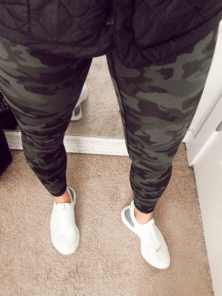 Amazon leggings and #workout shoes! http://liketk.it/36Ite #liketkit @liketoknow.it #LTKstyletip #StayHomeWithLTK #LTKfit