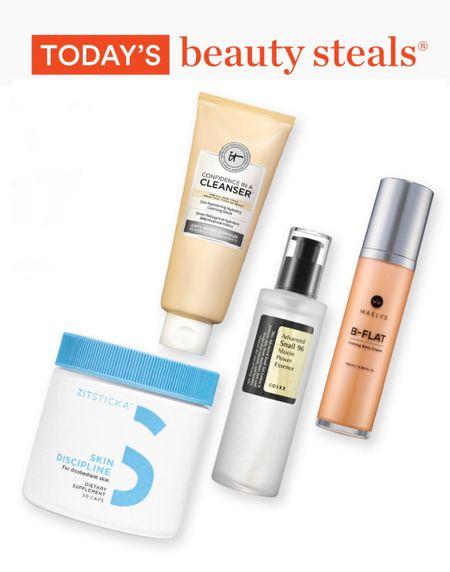 Ulta beauty steals for Sunday January 17 🤩 The It Cosmetics Confidence in a Cleanser Gentle Face Wash is one of my favorites, super gentle yet effective!   #LTKsalealert #LTKunder50 #LTKbeauty