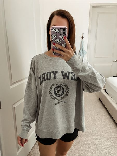 Target // under $50 // Target finds // sweater // fall outfit // fall sweater // travel outfit // sweater weather // sweaters under $50 // sweatshirt // graphic sweatshirt   #LTKfit #LTKunder50 #LTKtravel