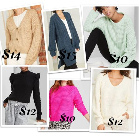 Target sweaters are all 50% off!!!   http://liketk.it/34mHC #liketkit @liketoknow.it #LTKsalealert Screenshot this pic to get shoppable product details with the LIKEtoKNOW.it shopping app