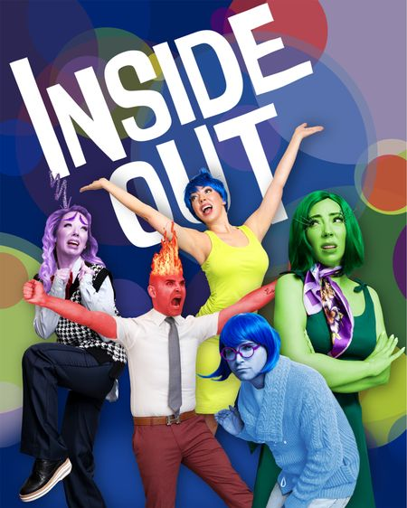 Inside Out is one of my most favorite movies. It's SO DANG CUTE and makes for simple DIY costumes!   #LTKSeasonal #LTKunder50 #LTKHoliday