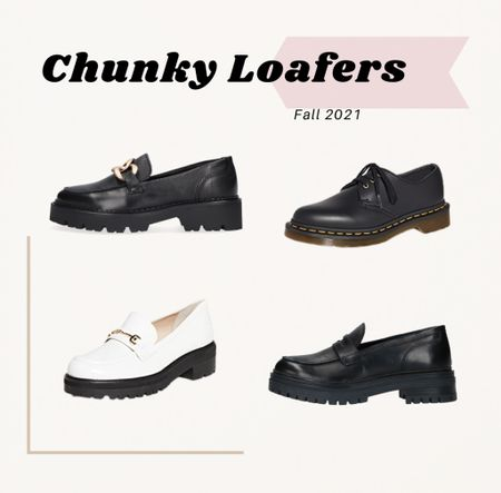 Obsessed with this trend! Loving a good pair of chunky loafers for fall #loafers #fallshoes #boots #asos #shoes   #LTKeurope #LTKstyletip #LTKshoecrush