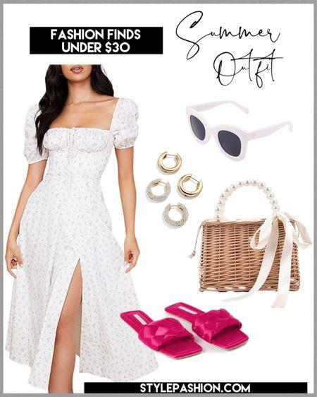 Summer outfit idea - dress is under $30 #Amazonfashion #Amazondresses #summerdresses #SummerOutfits http://liketk.it/3jtff #liketkit @liketoknow.it #LTKstyletip #LTKitbag