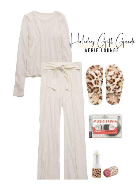 Holiday Gift Guide Series : Aerie Lounge🎄  #LTKChristmas #LTKgiftguide   #StayHomeWithLTK #LTKstyletip #LTKunder50