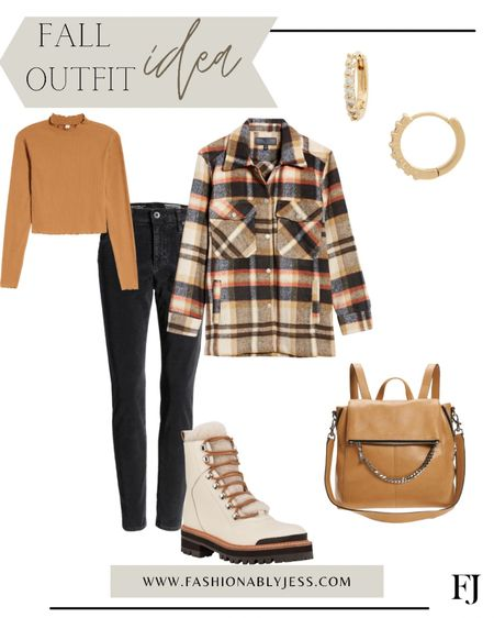 Fall style, fall outfit, shacket, boots, combat boots   #LTKshoecrush #LTKtravel #LTKstyletip