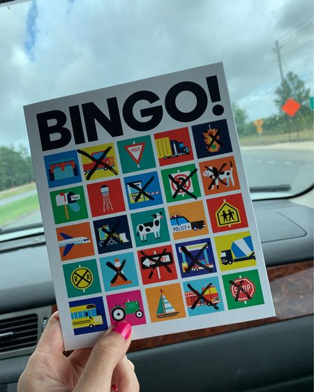 Road trip essentials for families with kids! This bingo game is perfect for your little one as you head out on your summer vacation!! Our preschooler and future kindergartener love it!! @liketoknow.it @liketoknow.it.family #liketkit #LTKkids #LTKfamily #LTKtravel http://liketk.it/3i08X