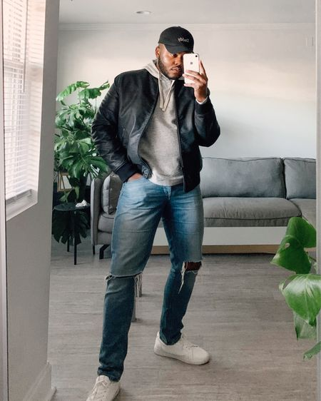 Leather jackets are my go-to during the Fall. Lately I've been reaching for this reversible leather bomber to top off my outfits.   #LTKmens