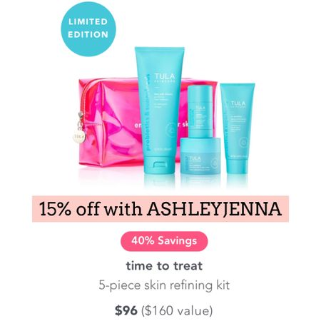 Tula sale   Follow my shop @ashleyjennany on the @shop.LTK app to shop this post and get my exclusive app-only content!  #liketkit  @shop.ltk http://liketk.it/3q1YC  Follow my shop @ashleyjennany on the @shop.LTK app to shop this post and get my exclusive app-only content!  #liketkit  @shop.ltk http://liketk.it/3q24k  Follow my shop @ashleyjennany on the @shop.LTK app to shop this post and get my exclusive app-only content!  #liketkit #LTKbeauty #LTKsalealert #LTKHoliday @shop.ltk http://liketk.it/3q2Fa