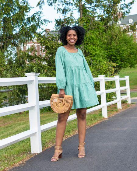 It's sundress season! Here are a few of my favorite puff sleeve tiered dresses for the season http://liketk.it/3fz4j #liketkit @liketoknow.it