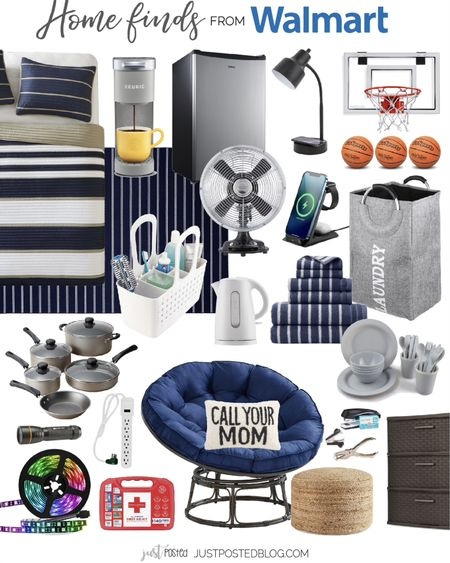 Everything you need from @walmart for a boy's college dorm http://liketk.it/3iUFx #liketkit @liketoknow.it  #walmarthome