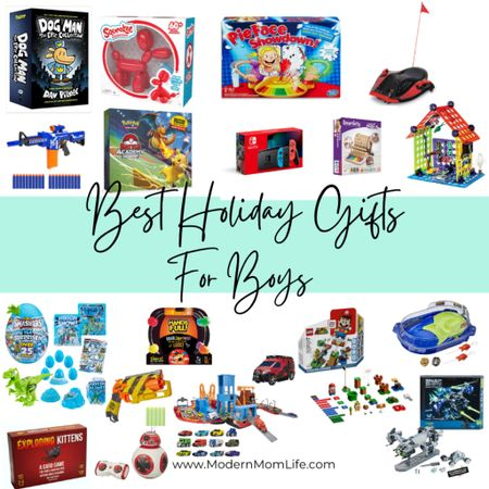My best holiday gift ideas for boys ages 5-10 are here! Including the hottest toy trends for 2020. I can only feature 16 products so go see the complete list on ModernMomLife.com under 'gift ideas'. Happy shopping! http://liketk.it/323Fi #liketkit @liketoknow.it #LTKkids #LTKfamily #LTKunder100