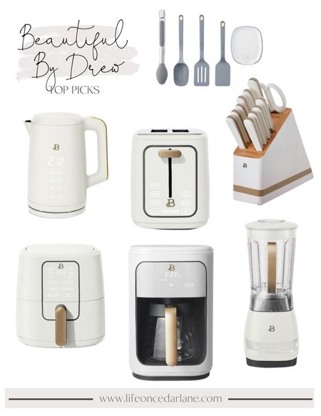 Beautiful by Drew Barrymore - this new kitchen line at Walmart is SO pretty and super affordable!! These items all come in multiple colors. Snag them while they're still in stock!   #LTKsalealert #LTKunder100 #LTKhome
