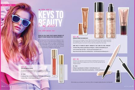 Shop the products featured in Alison Kay's Keys to Beauty April 2021 #beauty #beautyeditor #beautyblogger #bestbeautyproducts http://liketk.it/3dPMh #liketkit @liketoknow.it #LTKunder50