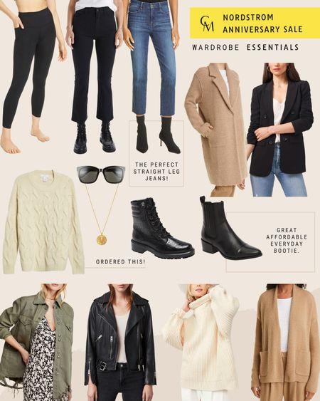 Nordstrom Anniversary Sale: Wardrobe Essentials. Closet Staples. http://liketk.it/3kegF @liketoknow.it #liketkit #LTKsalealert #nsale #LTKshoecrush