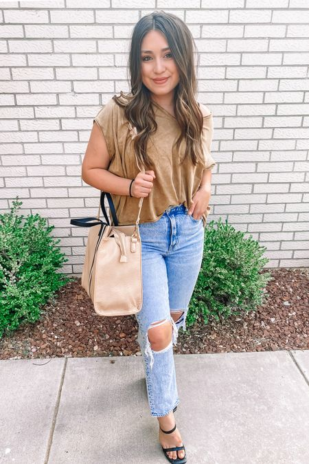 Tote on sale under 40$ and my tee is softest you ever did haven http://liketk.it/2V3N3 #liketkit @liketoknow.it
