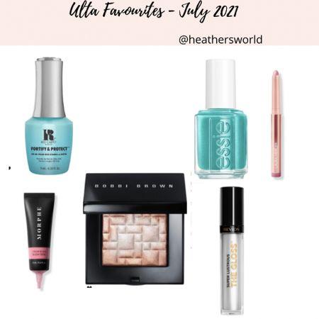 Ulta Favourites - July 2021   #lktit #ulta #beauty #makeup #essie #bobbiebrown #lauramercier   #LTKunder50 #LTKunder100 #LTKbeauty
