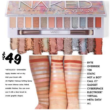 🚨AVAILABLE NOW in the US! NEW Urban Decay Cyber Naked Palette ❤️. #steffsbeautystash  #LTKbeauty #LTKHoliday #LTKunder50