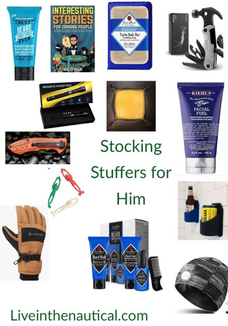Gift Guide! Stocking stuffers for HIM!  Guys can be super hard to shop for, but here are some gifts that are sure to win to be a hit come the holidays!  #LTKCyberweek #LTKGiftGuide #LTKHoliday