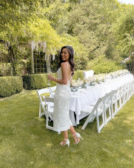 Bridal shower white Wyler dress. http://liketk.it/3hrl5 #liketkit @liketoknow.it #LTKwedding #eyelet #whitedress #bridal