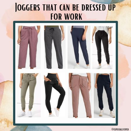 Make your work wardrobe more comfortable with these joggers that can be easily dressed up! 👏  #LTKworkwear #LTKstyletip #LTKSeasonal