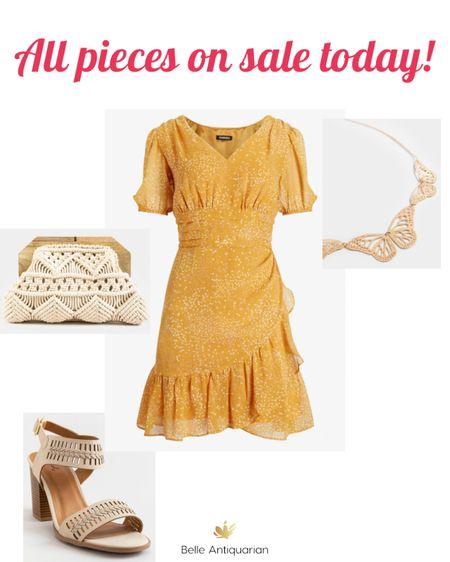 Summer wedding ready with this dress!   #LTKSpringSale   #LTKshoecrush #LTKunder50