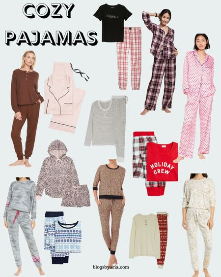 It's cozy pj season!! Pajamas make great gifts but are also very practical as the weather changes and you snuggle into bed   #LTKSeasonal #LTKGiftGuide #LTKstyletip