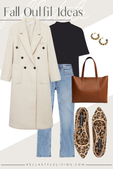Casual Fridays were made for denim and some chic flats.  Love this long coat for the cooler months ahead.   #LTKstyletip #LTKworkwear #LTKSeasonal