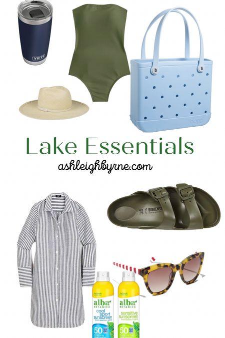 Lake Essentials, all my favorites for a day on the lake.   #LTKSeasonal #LTKswim #LTKunder50