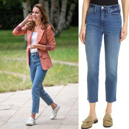 Kate inspired high waist jeans on Nordstrom annual sale #leggings #denim   #LTKstyletip