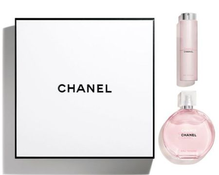 Chance by Chanel is always a top 5 perfume for women. It's has flowers within their notes and usually is a great option if you do not like Coco Mademoiselle by Chanel. Chance does really good during holidays because of the gel or lotion that comes in the set. If you do not purchase now get this fragrance during Valentines Day. Curbside pick up at Ulta is a perfect way to get this before the holiday. #chanelfragrances #chancebychanel #fragrancegift Shop my daily looks by following me on the LIKEtoKNOW.it shopping app http://liketk.it/34k2B #liketkit @liketoknow.it #LTKgiftspo