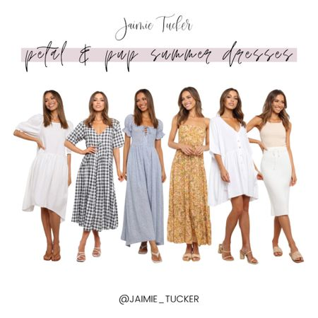 Petal & Pup have the perfect summer outfits! Check out these stunning and gorgeous summer dresses that you can rock during the warmer months. | #summerdress #summermusthaves #vacationoutfits #beachvacation #beachoutfits #babyshoweroutfit #summerdress #summeroutfit #JaimieTucker  #LTKstyletip #LTKwedding #LTKtravel
