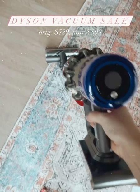 Dyson vacuum sale!   #LTKsalealert #LTKhome