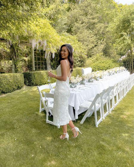 Bridal shower dresses. #liketkit http://liketk.it/3hIP0 @liketoknow.it #LTKwedding #bridal #wedding #eyelet #whitedress