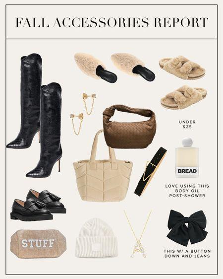 Fall accessory must-haves #fallstyle  #LTKSeasonal